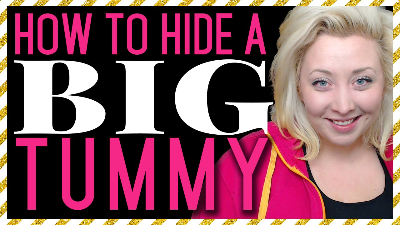 How To Hide A Big Tummy 13 Tips To Conceal Your Stomach Youtube