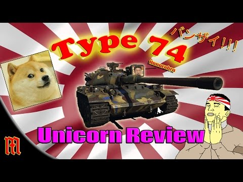 War Thunder: Type 74 MBT Super Unicorn Review