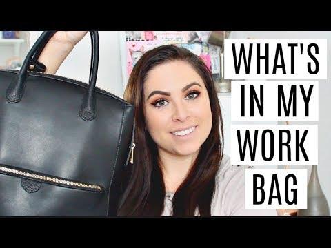 WHAT'S IN MY WORK BAG? Girlboss Essentials thumbnail