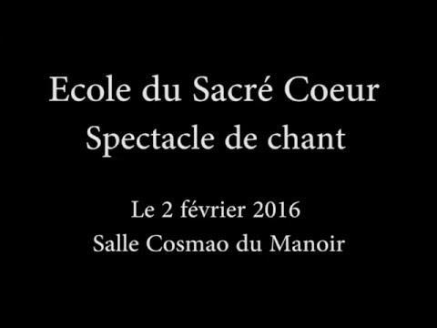 2016 02 02 spectacle annuel sacre coeur