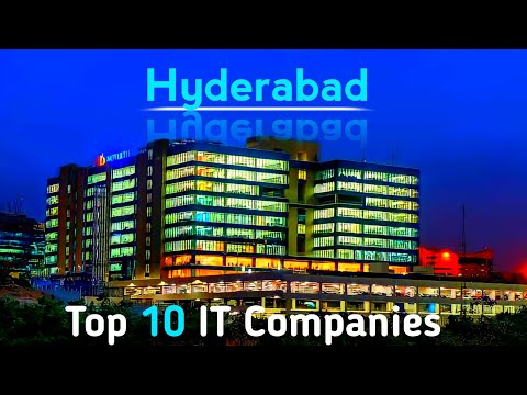 Top 10 IT Companies in Hyderabad | Telangana state | IT in Hyderabad | IT in hi- tech city