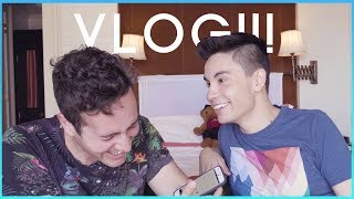 VLOG: Tastiest Band Member!!?? WOULD YOU RATHER ft. Casey Breves | Sam Tsui