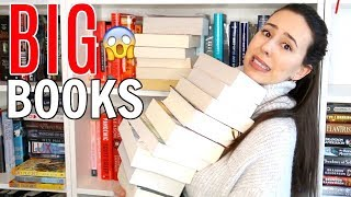 One of BookswithEmilyFox's most viewed videos: Big Books I Want to Read in 2018 || Reading Challenge