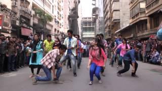 ICC World Twenty20 Bangladesh 2014 - Flash Mob northern University banani campus
