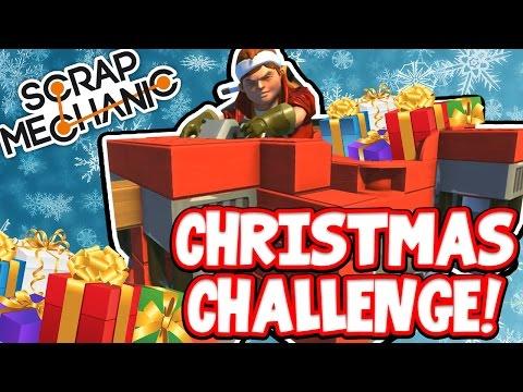 Scrap Mechanic! - CHRISTMAS CHALLENGE! Vs AshDubh - [#40]   Gameplay  