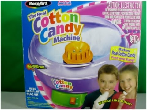 Cotton Candy Maker Does It Really Work Youtube