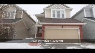 Top Ottawa Realtor Presents 860 Percifor Way, Built by Phoniex Homes Rosemere Model!
