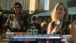 Vegas Golden Knights hosting Fan Fest downtown Sept. 19