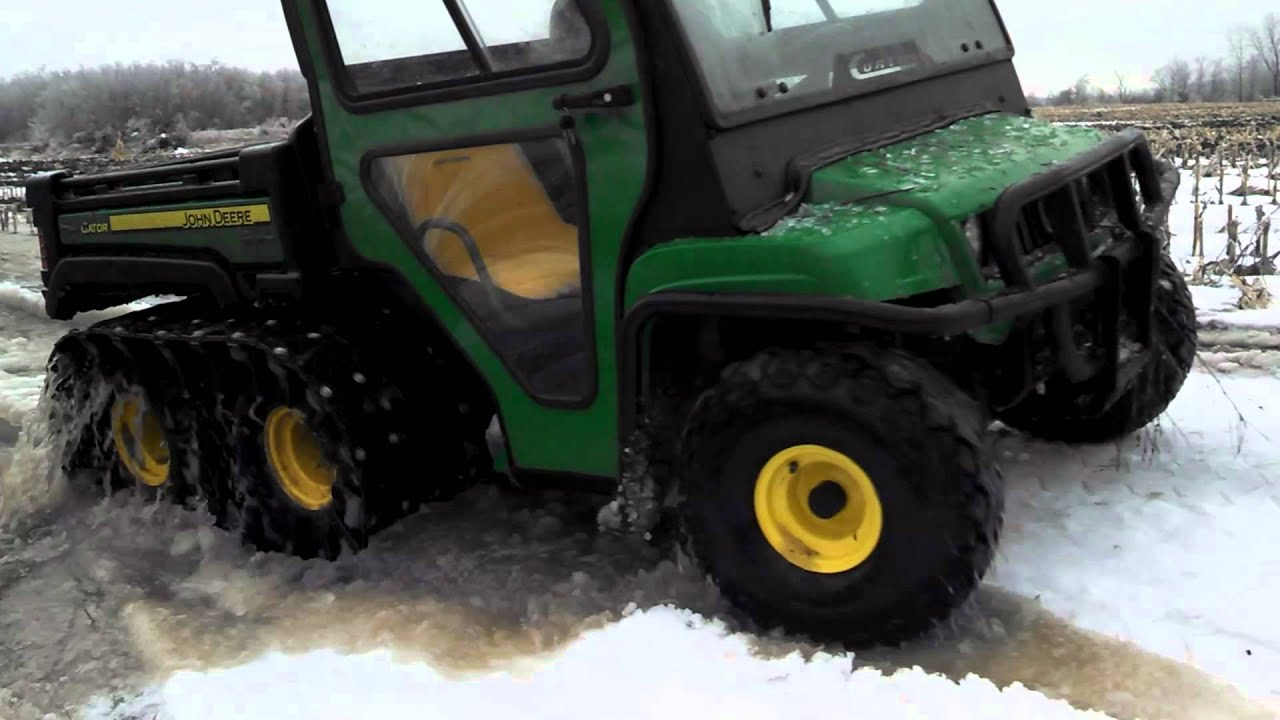 John Deere Gator Video 3 Right Track Systems Int Youtube