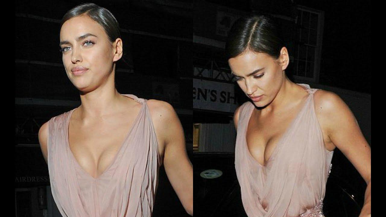 Irina Shayk Cleavage Nude Photos 87