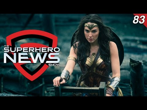 Superhero News #83: Wonder Woman set reports