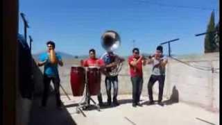 trompetas de banda la chacaloza , rancho viejo,armonias autenticos reyes, tuba chacaloza