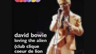 david bowie loving the alien club clique coeur de lion edit