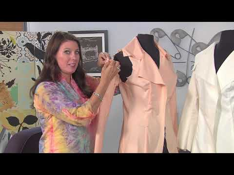 Sew a trench coat raincoat on It's Sew Easy along with Angela Wolf (1801-1)