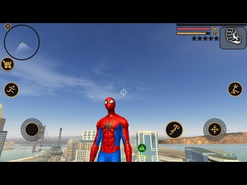 Spider Man | Vegas Crime Simulator | Naxeex Fan Build Android Gameplay HD
