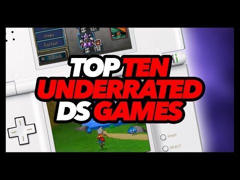 Top Ten Underrated DS Games