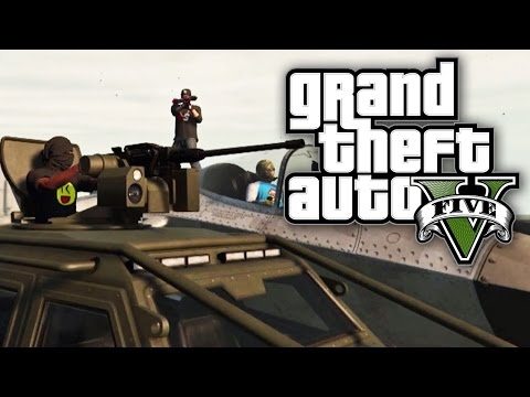 GTA 5 Online HEISTS - The Pacific Standard Job BANK HEIST! (GTA V Online)