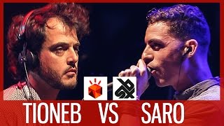 TIONEB vs SARO | Grand Beatbox LOOPSTATION Battle 2017 | FINAL