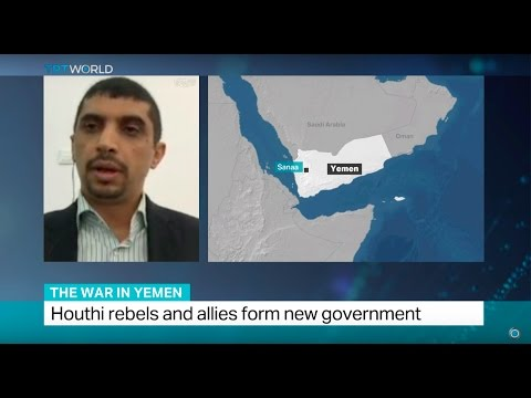 Khalid Ahmed Alradhi on Houthis forming government in Yemen