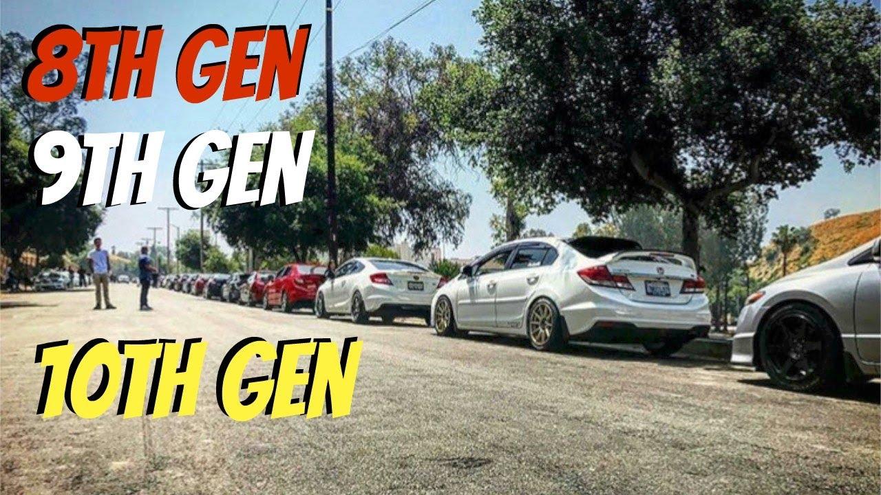 Biggest Honda Civic Car Meet