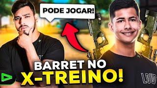 O QUE ACONTECE QUANDO O JORDAN ME EMPRESTA A BARRET NO X-TREINO!!