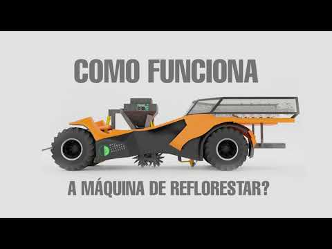How does our reforestation machine work?