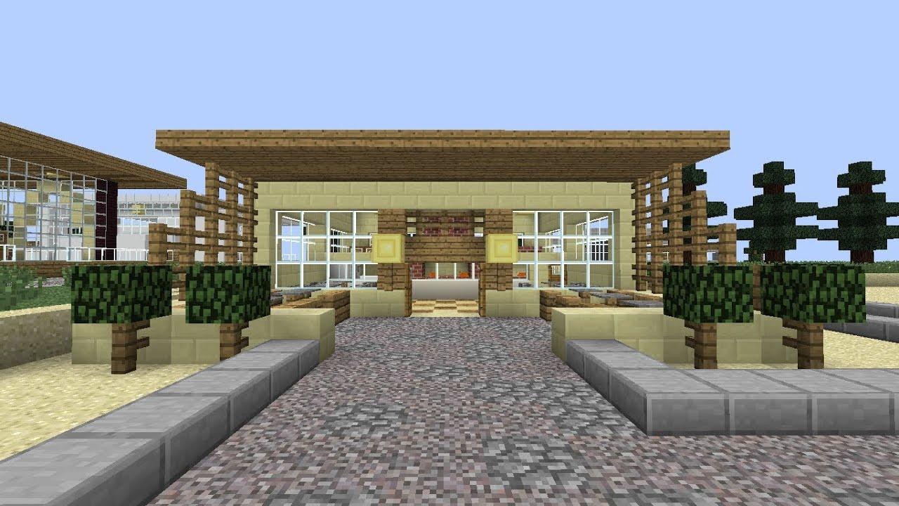 How To Build Restaurants In Minecraft