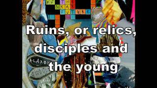 Golden Skans - Klaxons (lyrics)