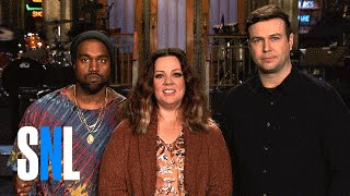 Melissa McCarthy and Kanye West Are Ready For The Biggest SNL Ever