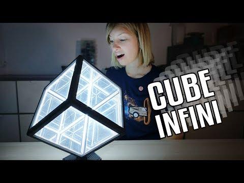 Comment fabriquer ce magnifique cube infini.
