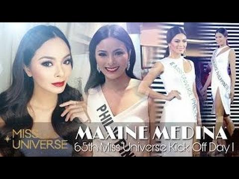 MAXINE MEDINA    65th Miss Universe Kick Off Day 1    Miss Universe 2016
