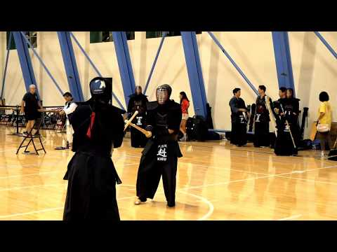 Kendo 2017 Nikkei Games 2 Dan Division: Semi Finals 1(partial)
