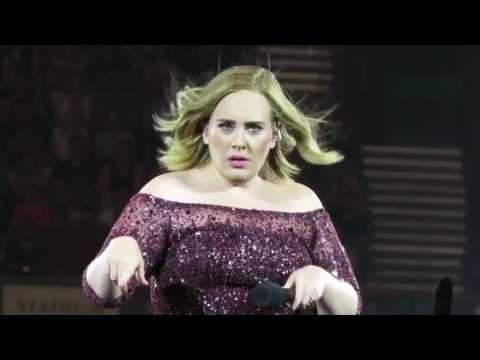 Adele Live Tour Australia And New Zealand Funny Moments