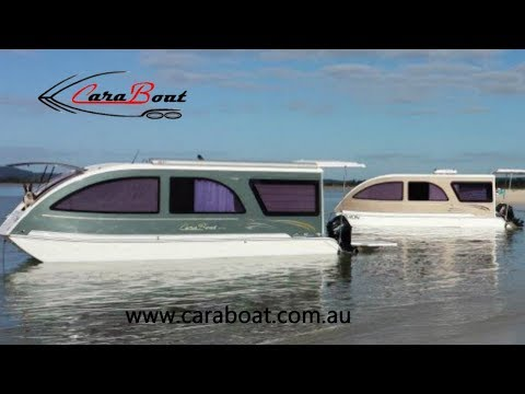 Caraboat - A Trailerable Houseboat