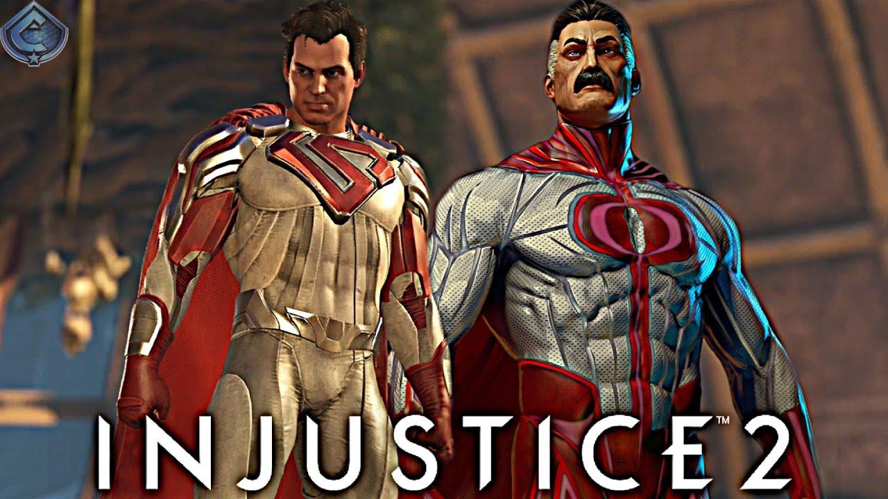 Injustice 2 Online - OMNI-MAN SUPERMAN IS INDESTRUCTIBLE!