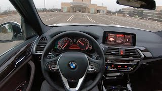 2019 BMW X3 xDrive30i - POV Test Drive (Binaural Audio)