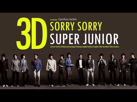 [3D \ Use Headphones] Super Junior(슈퍼주니어) _ SORRY, SORRY