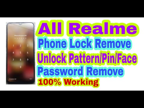 All Realme||Remove Phone Lock||Unlock Pattern/Pin/Face/Password/Fingerprint Remove 100% Working
