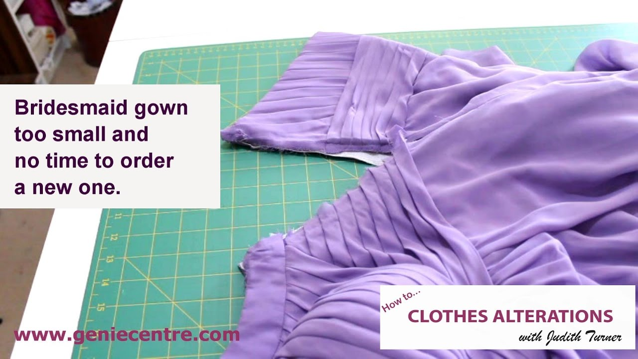 How to Make a Dress Bigger in The Bust Easily Helpful Tips