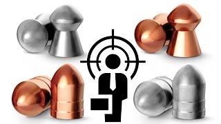 Свинцовые и медные пули для пневматики (обзор с отстрелом через хронограф)