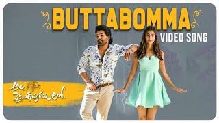 ButtaBomma Video Song   Ala Viakuntapuram Lo New Song   Ala Viakuntapuram Lo ButtaBomma Song