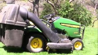 JohnDeere PowerFlow Bagger