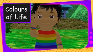 Pre-Primary -  Story -  The Colours Of Life - English 3D Animation