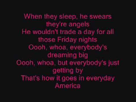 Everyday America - Sugarland (lyrics)