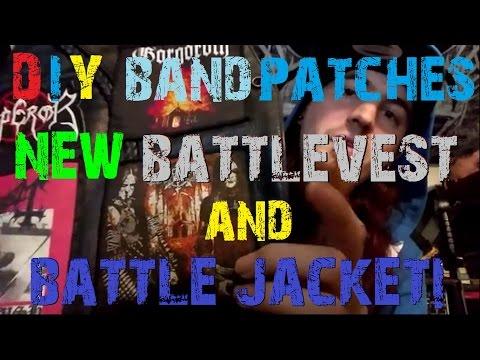 DIY Patches, New Battle Vest & Jacket Started!