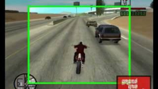 GTA:SA : Jack moving vehicles (PC) (MOD)