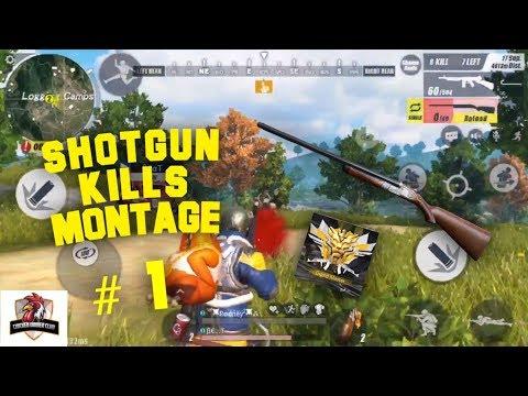 Shotgun Kills Montage #1   Rules of Survival   Mobile Gameplay