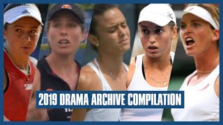 Tennis Drama Archive 2019 Compilation
