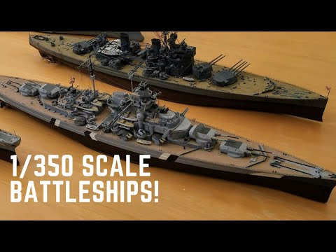 Battleship 1/350 Scale Ship Models