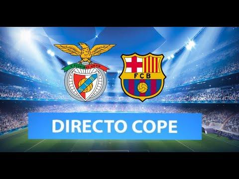 (SOLO AUDIO) Directo del Bénfica 3-0 Barcelona en Tiempo de Juego COPE